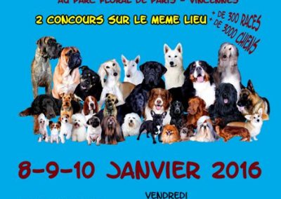 Paris dog show 2016 Vivog